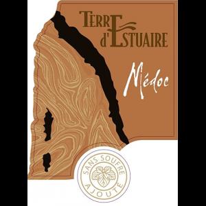 Front label Terre d'Estuaire 2018 75cl