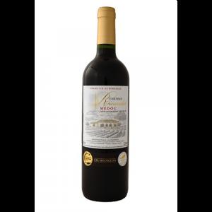 Château Ricaudet - bouteille de vin du Médoc par UNI MEDOC