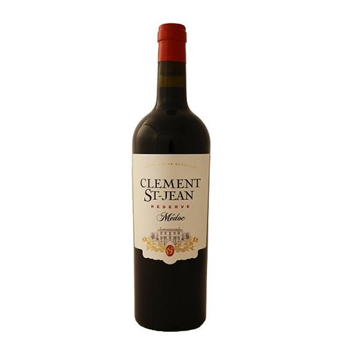 Clément Saint Jean - bouteille de vin du Médoc par UNI MEDOC