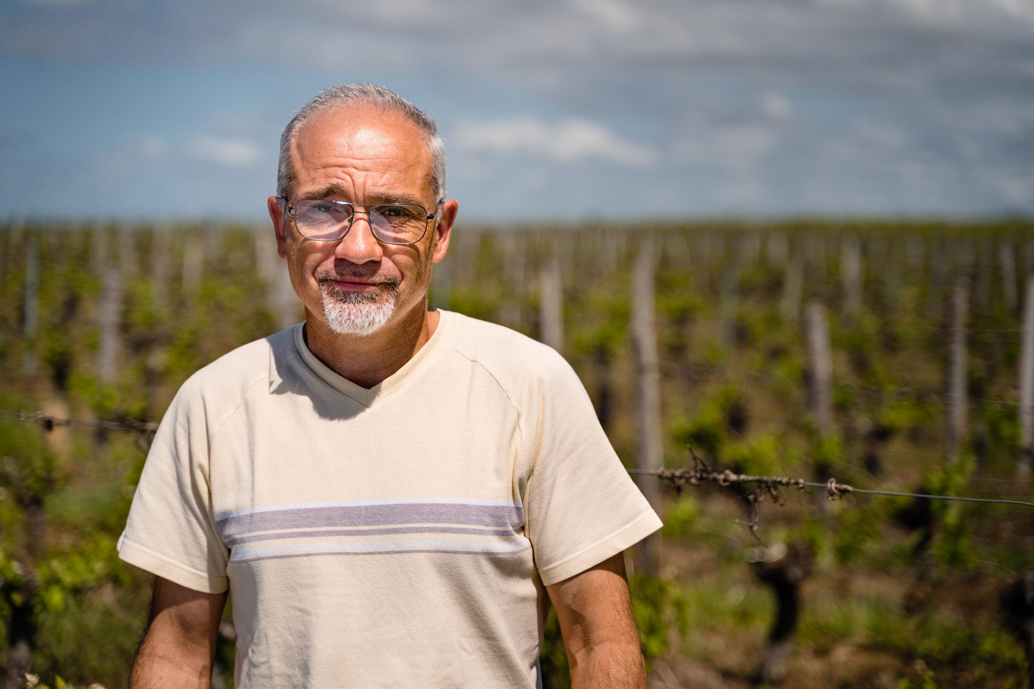 Visite avec un vigneron, Eric Tamisier