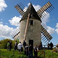 Visite du Moulin de Vensac parmi les activités proposées pas UNI MEDOC