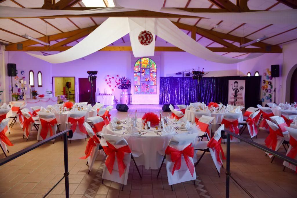 Location de salles pour mariages et réceptions au cœur du vignoble