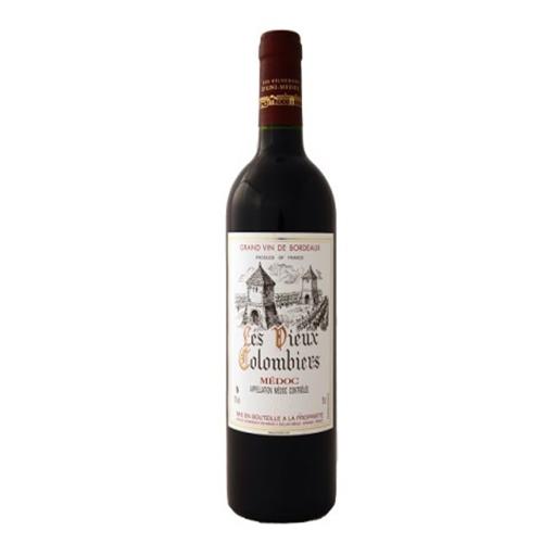 Les Vieux Colombiers - bouteille de vin du Médoc par UNI MEDOC